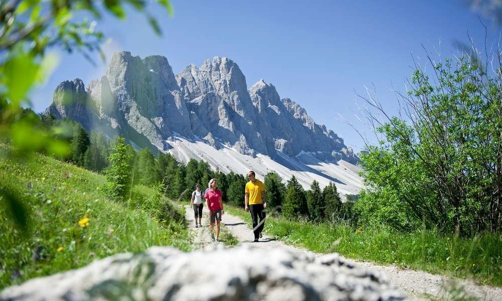 Aktivurlaub im wunderschönen Villnöss – Dolomiten / Südtirol